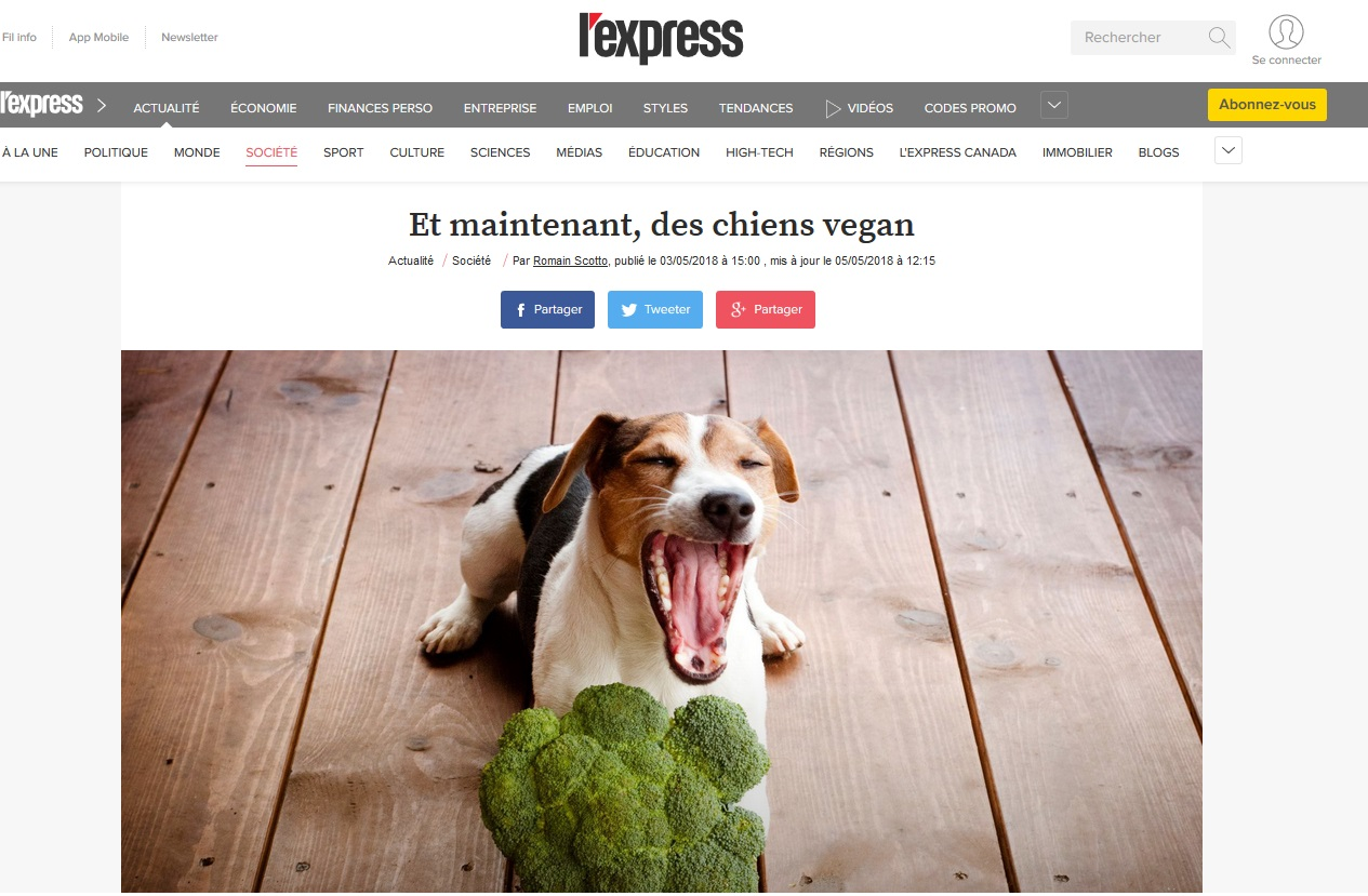 lexpress-chiens-vegan