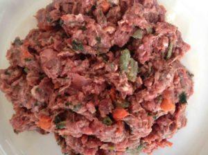 quantité de viande dans une ration ménagère