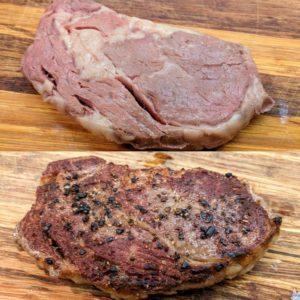 cuisson,de la viande pour le chien
