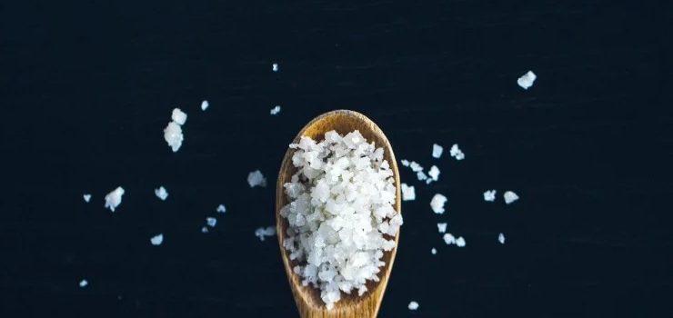 sel dans une ration ménagère