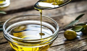 huile d'olive pour le chien